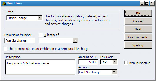 Ways You Can Use QuickBooks To Manage Prices In A Down Economy - Quickbooks invoice subtotal